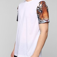 Tiger Sleeves Tee - Urban Outfitters