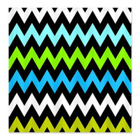 Shower Curtain - Zigzag #13 - Ornaart Design