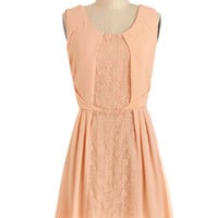 Pretty in Peach Dress | Mod Retro Vintage Dresses | ModCloth.com