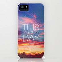 Psalm 118 This is the Day iPhone & iPod Case by Pocket Fuel