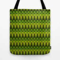 Summer Chevrons Tote Bag by Lyle Hatch