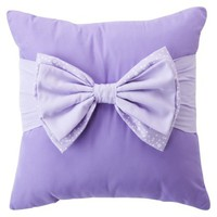 Circo® Bow Pillow - Purple