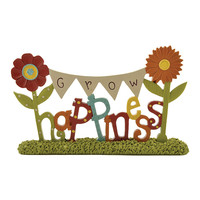 'Grow Happiness' Sign