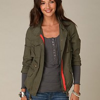 Free People Brass Revival Cargo Jacket