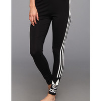 adidas Originals 3-Stripes Leggings Black/White - Zappos.com Free Shipping BOTH Ways
