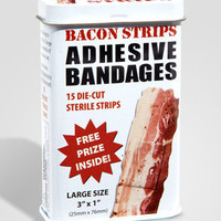 Wacky Bandages | Fun Printed Novelty Bandage Strips | fredflare.com
