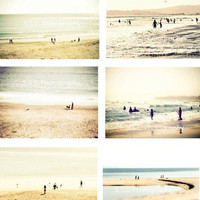 Beach Photo Set Serene Sea Set Set of 6 5x7 inch by SSCphotography