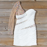 Spool Couture Athena Dress in White