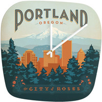DENY Designs Home Accessories | Anderson Design Group Portland Modern Clock