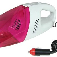 GeekTek High-Power 12-Volt Wet and Dry Auto Vacuum with 9 ft Car Power Cord