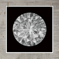 Moon Diamond Print