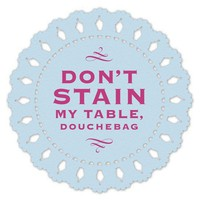 Hilarious Coasters - An Assortment of 8 Doily Coasters