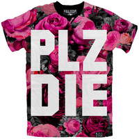 PLZ DIE T-Shirt [MULTI] | KILLSTAR