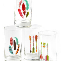 ModCloth Boho Archery Champ Glass Set