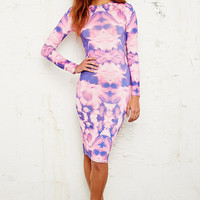 Jaded London Floral Midi Dress - Urban Outfitters