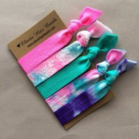 The Maggie Elastic Hair Tie Ponytail Holder Collection by Elastic Hair Bandz