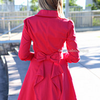 PARIS WITH LOVE JACKET , DRESSES, TOPS, BOTTOMS, JACKETS & JUMPERS, ACCESSORIES, 50% OFF SALE, PRE ORDER, NEW ARRIVALS, PLAYSUIT, COLOUR, GIFT VOUCHER,,Red,LONG SLEEVES Australia, Queensland, Brisbane