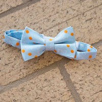 Andy and Evan Blue & Orange Bow Tie - Boys Easter Outfits