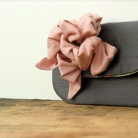 design your own bow style clutch by eclu on Etsy