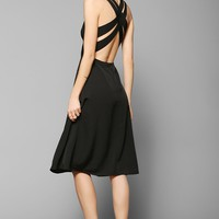 COPE Crisscross-Back Knit Midi Dress - Urban Outfitters