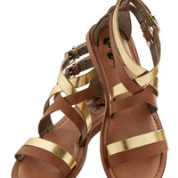 Brandish Your Brilliance Sandal | Mod Retro Vintage Sandals | ModCloth.com