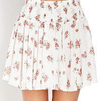 Innocent Floral Skater Skirt