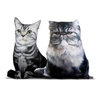 Cat Lady Decorative Pillows - Two Styles Available - Pre-Order Now: Ships Early April