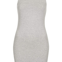 Open Back Bodycon Tunic