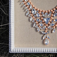Hive & Honey Necklace in Peach - Peach