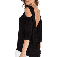 BCBGMAXAZRIA Jinelle Top in Black from REVOLVEclothing.com