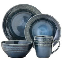 Threshold™ 16 Piece Dinnerware Kingsland - Blue