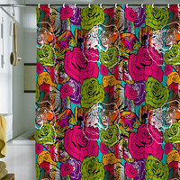 DENY Designs Home Accessories | Aimee St Hill Bright Roses Shower Curtain