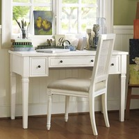 Meredith Smart Technologyâ?¢ Vanity Desk | Pottery Barn