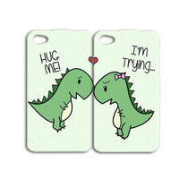 Best Friends Phone Case Cute Dinosaur Case Funny iPod Case Cute iPhone 4 Case iPhone 5 Case Adorable iPhone 4s Case Dinosaurs iPhone 5s Case