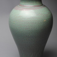 Large Vase Stoneware VC Copper