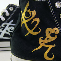 Custom HandPainted Mortal Instruments  Infernal by customchucks