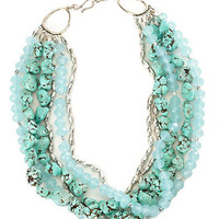 Multi Stone Strand Necklace - Accessories - Lucky Brand Jeans