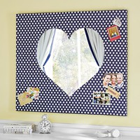 Heart Pinboard Mirror