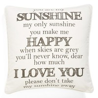 Levtex 'You Are My Sunshine' Pillow | Nordstrom