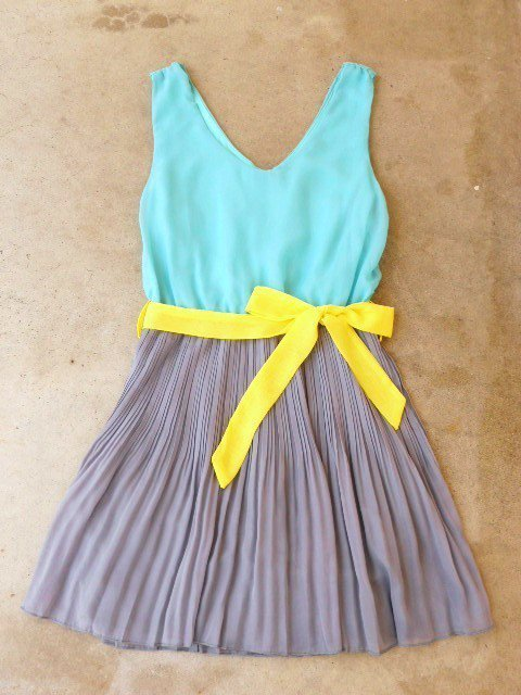 Clearwater Colorblock Dress [2540] - $35.70 : Vintage Inspired Clothing & Affordable Summer Dresses, deloom | Modern. Vintage. Crafted.