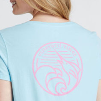 Marlin Waves Tee
