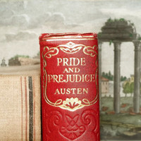 1930's Edition Pride and Prejudice vintage book by Jane Austen - EAGERforWORD