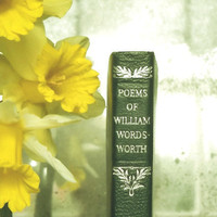 William Wordsworth poetry book by EAGERforWORD on Etsy