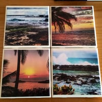 Hawaii Photo Coasters