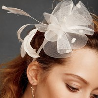 Crinoline Plume Headband in the SHOP Hair Adornments at BHLDN