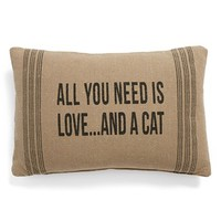 Primitives by Kathy 'And a Cat' Pillow | Nordstrom