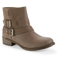 Buckle Shortie Boot