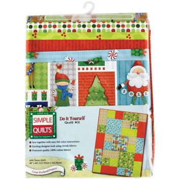 Jolly Santa Quilt Kit