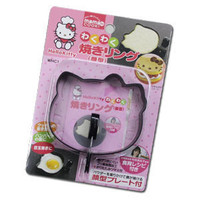 Hello Kitty Cooking Ring &amp; Powder Stencil