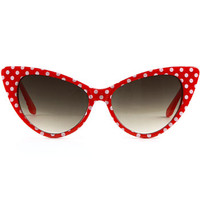 Dottie Sunglasses in Cherry